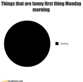 Things that are funny first thing Monday morning