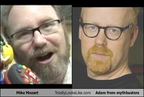Mike Mozart Totally Looks Like Adam from mythbusters