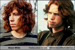 Shaun White Totally Looks Like Malachai from Children of the Corn