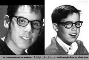 Jeff Frankenstein from the Newsboys Totally Looks Like Ernie Douglas from My Three Sons