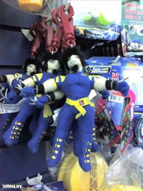 Dollar Store Wolverine Toy