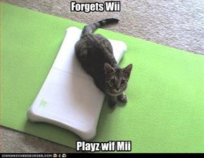 Forgets Wii