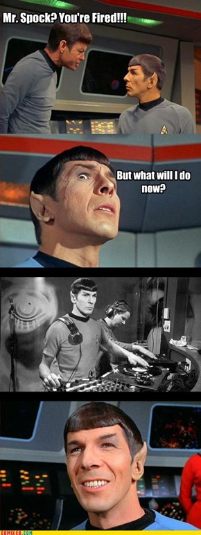 Spock's Career Move