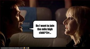 Do I want to join the mile high club? Err...