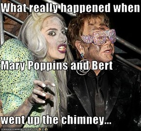 What really happened when Mary Poppins and Bert went up the chimney...