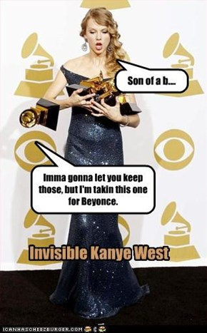 Invisible Kanye West