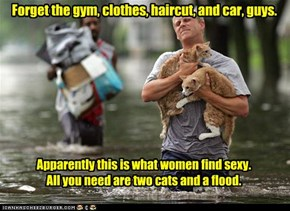 Forget the gym, clothes, haircut, and car, guys.