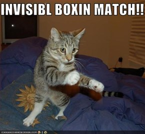 INVISIBL BOXIN MATCH!!