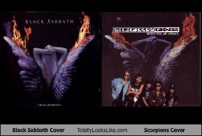 Black Sabbath Cover Totally Looks Like Scorpions Cover