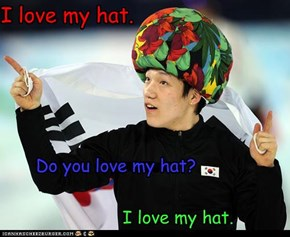 Do YOU love my hat?