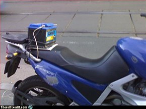 motorcycle battery fix