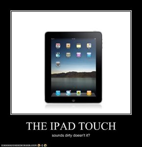 THE IPAD TOUCH