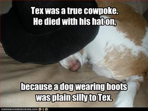 Good old Tex.