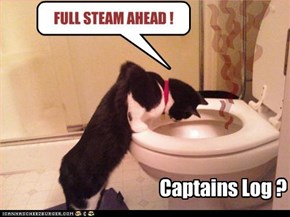 Captains Log ? . . . . .