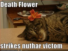 Death Flower  strikes nuthar victom