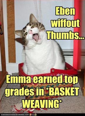 Eben  wiffout  Thumbs...