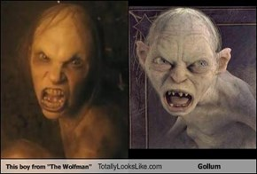 This boy from ''The Wolfman'' Totally Looks Like Gollum