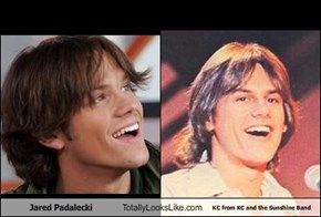 Jared Padalecki Totally Looks Like KC from KC and the Sunshine Band