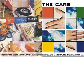 New Found Glory Album Cover Totally Looks Like The Cars Album Cover