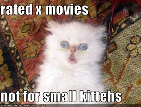 Not for small kittehs