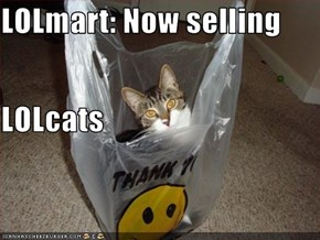 LOLmart: Now selling LOLcats