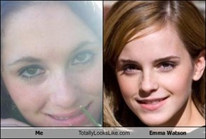 Me Totally Looks Like Emma Watson
