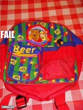 Backpack Fail