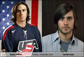 Ryan Miller  Totally Looks Like Jared Leto