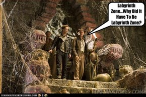Indy Stumbles Upon The Ruins Of Labyrinth Zone From Sonic The Hedgehog