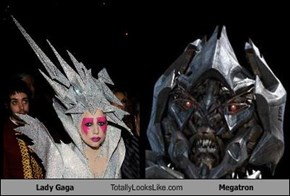 Lady Gaga Totally Looks Like Megatron