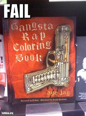 Colouring Book Fail
