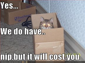 Yes... We do have.. nip,but it will cost you