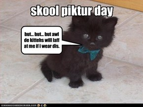 skool piktur day