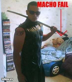 Macho Fail