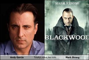 Andy Garcia Totally Looks Like Mark Strong