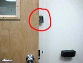 Doorstop Fail