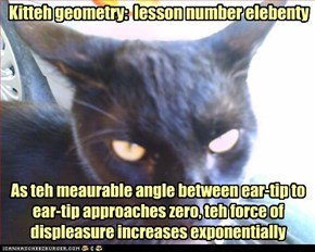 Kitteh geometry:  lesson number elebenty