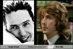 Hugh Grant Totally Looks Like Eric Idle