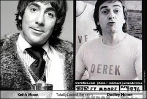 Keith Moon Totally Looks Like Dudley Moore