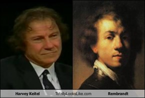 Harvey Keitel Totally Looks Like Rembrandt