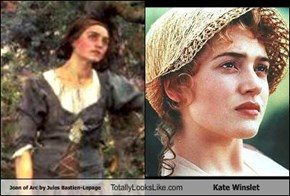 Joan of Arc by Jules Bastien-Lepage Totally Looks Like Kate Winslet