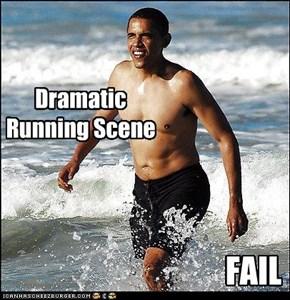 Dramatic Running Scene