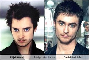 Elijah Wood Totally Looks Like Daniel Radcliffe