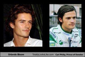 Orlando Bloom Totally Looks Like Carl Philip, Prince of Sweden