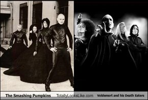 The Smashing Pumpkins Totally Looks Like Voldemort and his Death Eaters