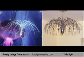 Floaty things from Avatar Totally Looks Like This light