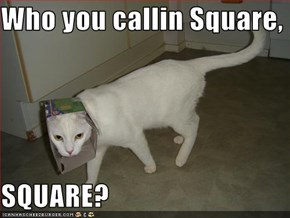 Who you callin Square,   SQUARE?