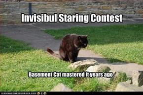 Invisibul Staring Contest