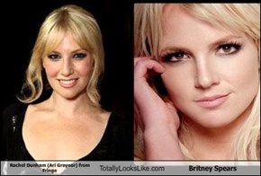 Rachel Dunham (Ari Graynor) from Fringe  Totally Looks Like Britney Spears