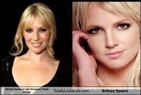 Rachel Dunham (Ari Graynor) from Fringe  Totally Looks Like Britney Spears